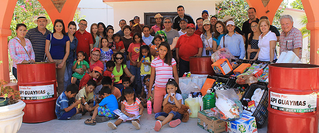 API supports Casa Hogar Rancho San Humberto child